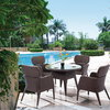 Forio dining set (5PCS/SET:1 table+ 4 chairs)