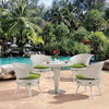 Sassari dining set (5PCS/SET:1 table+ 4 chairs)
